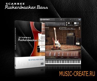 Native Instruments - Scarbee Rickenbacker Bass (KONTAKT) - библиотека звуков бас-гитары Rickenbacker