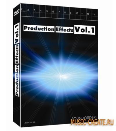 Best Service - Production Effects Vol.1 (REX2 WAV) - звуковые эффекты