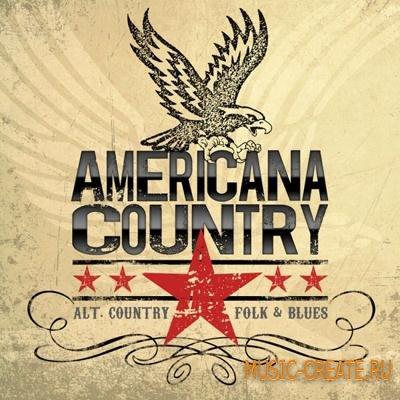 Big Fish Audio - Americana Country (KONTAKT) - библиотека звуков Country, Folk, Blues