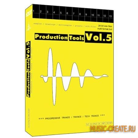 Best Service - Production Tools Vol.5 (MULTiFORMAT) - сэмплы Progressive, Trance, Tech Trance