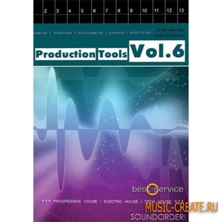 Best Service - Production Tools Vol.6 (MULTiFORMAT) - сэмплы Progressive, Trance, Tech Trance