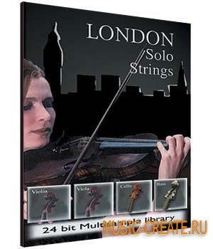 London Solo Strings от Big Fish Audio - библиотека скрипки, альта, виолончели и контрабаса (KONTAKT)