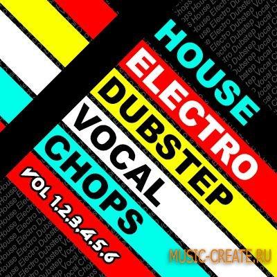 House Electro Dubstep Vocal Chops Vol 1-6 (WAV) - вокальные сэмплы