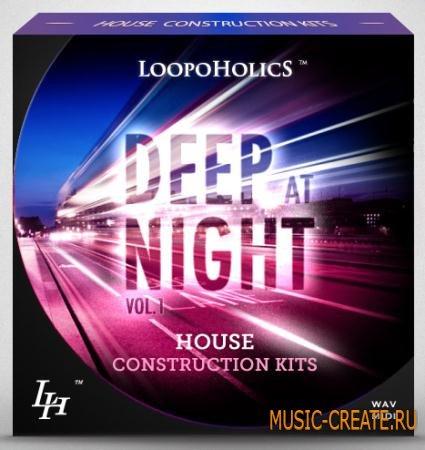 Loopoholics - Deep At Night Vol.1 House Construction Kits (WAV MiDi) - сэмплы Deep House