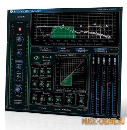 Blue Cat Audio - MB-5 Dynamix v1.2 x86 x64 (Team R2R) - многополосный процессор динамики