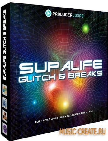 Producer Loops - Supalife Glitch Breaks (MULTiFORMAT DVDR) - сэмплы Glitch и Breaks