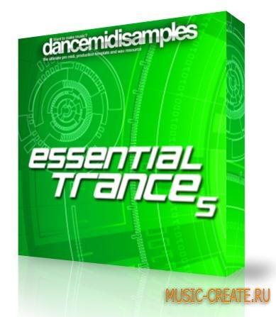 DMS - Essential Trance Vol 5 (WAV MiDi) - мелодии Trance