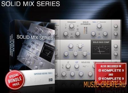 Native Instruments - Solid Mix Series Bundle (Team CHAOS) - сборка плагинов