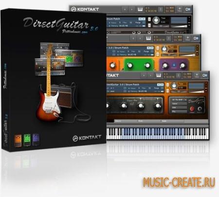 Pettinhouse - Direct Guitar 3  (KONTAKT) - библиотека сэмплов гитары