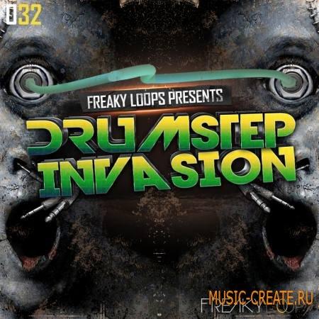 Freaky Loops - Drumstep Invasion (WAV) - сэмплы Dubstep, Drumstep, Drum and Bass