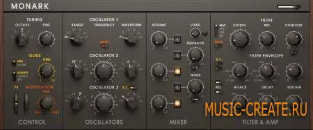 Native Instruments Monark v1.3.0.3 HYBRID (Team R2R) - синтезатор для REAKTOR