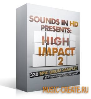 Sounds in HD - High Impact 2 (WAV) - драм сэмплы