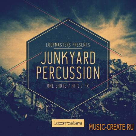 Loopmasters - Junkyard Percussion (MULTiFORMAT) - сэмплы перкуссий
