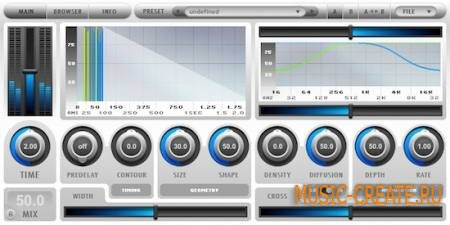 2C Audio - Breeze v1.2.0 (WiN MAC) - плагин ревербератор