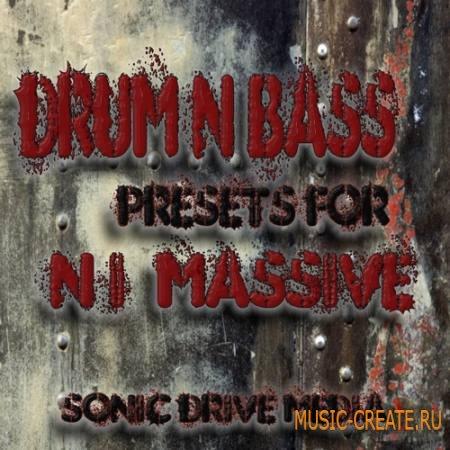 Sonic Drive Media - DnB Presets for NI Massive (Massive presets)