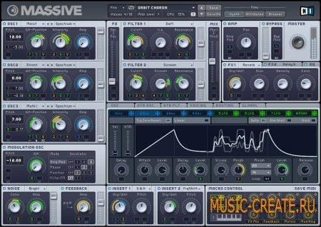 NI Massive Hardstyle sound pack (Massive presets)