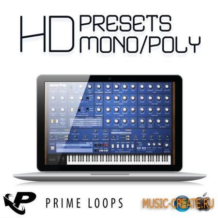 Prime Loops - HD Presets Mono/Poly (FXB MP4BANK) - пресеты для KORG MonoPoly