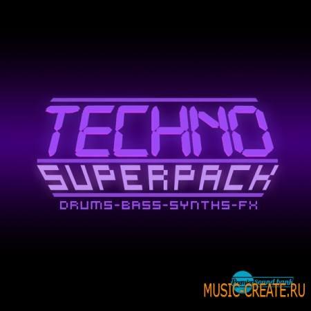 Premier Sound Bank - Techno Superpack (WAV) - сэмплы Techno