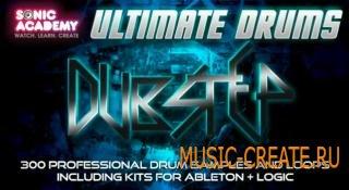 Sonic Academy - Ultimate Drums Dubstep (AiFF REX Apple Loops) - драм сэмплов