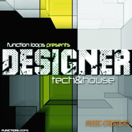 Function Loops - Designer Tech House (WAV MIDI) - сэмплы Tech House