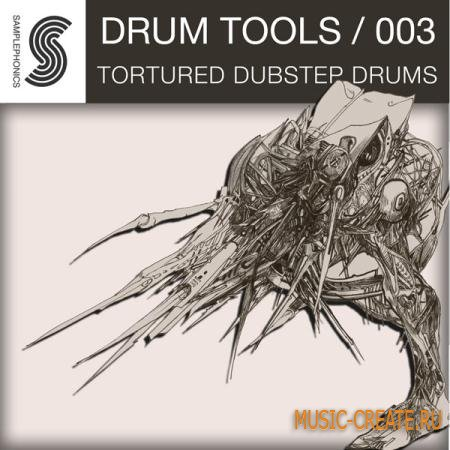 Samplephonics - Tortured Dubstep Drums (Multiformat) - сэмплы Dubstep