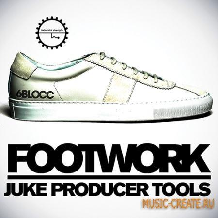 Industrial Strength Records - 6Blocc: Footwork Juke Producer Tools (WAV AiFF Battery) - сэмплы Trap, Hip Hop, Dub