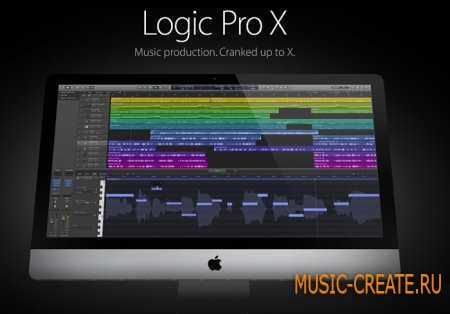 Apple Logic Pro X 10.4.4 MacOSX (TEAM TNT) - секвенсор