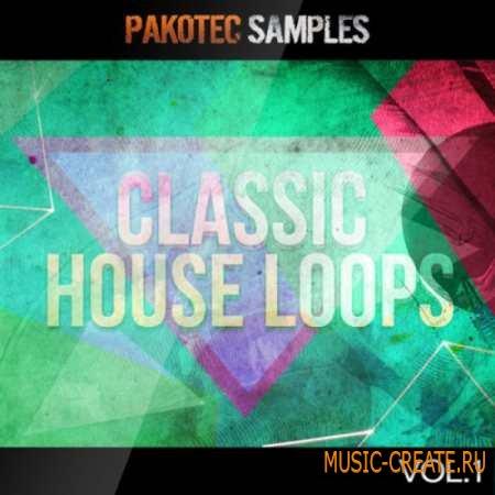 Pakotec Productions - Classic House Loops Vol.1 (WAV REX2 AiFF) - сэмплы Classic House