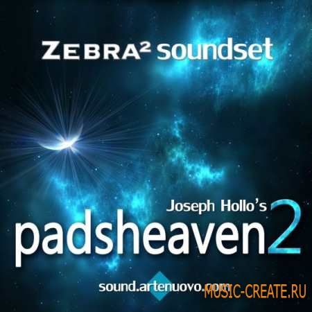 Sound Artenuovo - Padsheaven Bundle Pack for u-he Zebra 2 - пресеты Zebra 2