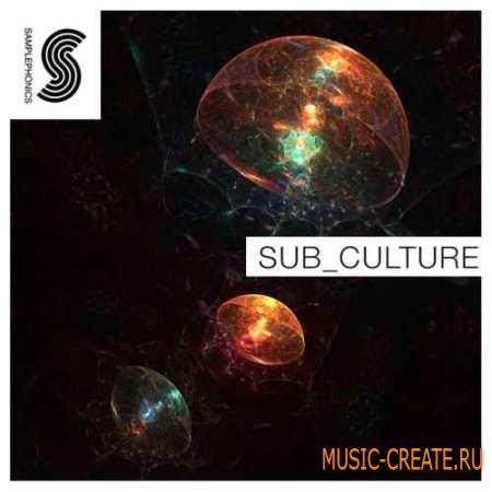 Samplephonics - Sub Culture Underground Bass Music (MULTiFORMAT) - сэмплы dubstep, garage, glitch hop, dnb