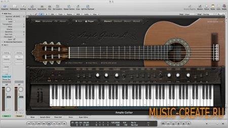 Ample Sound - AGL v1.6.0 (TEAM R2R) - инструмент и сэмплы гитары Alhambra Luthier