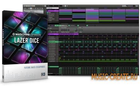 Native Instruments - Lazer Dice Expansion (MASCHINE)