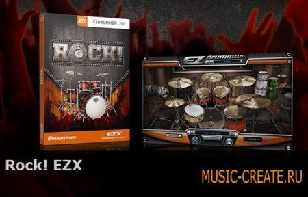 Toontrack Rock! EZX v1.5.3 (EZX Sound Expansion) - библиотека ударных