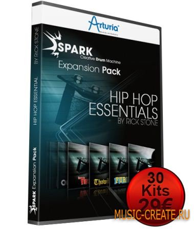 Arturia - Spark Hip Hop Essentials Expansion Pack (WiN & MAC OSX)