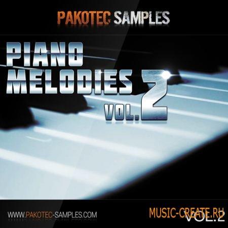 Pakotec Samples - Piano Melodies Vol 2 (WAV MIDI) - сэмплы и мелодии фортепиано