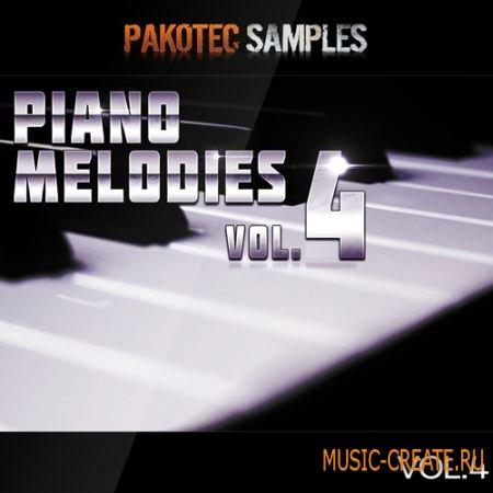 Pakotec Samples - Piano Melodies Vol 4 (WAV MIDI) - сэмплы и мелодии фортепиано