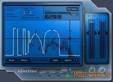 IZotope - Spectron v1.1.4b WiN / OSX (Team R2R) - мощный эффект-процессор
