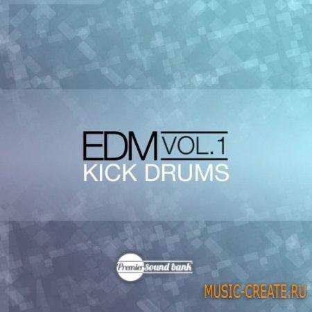 Premier Sound Bank - EDM Drum Kicks Volume 1 (WAV) - сэмплы бас-барабанов