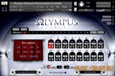 Soundiron - Olympus Elements (KONTAKT) - библиотека хора