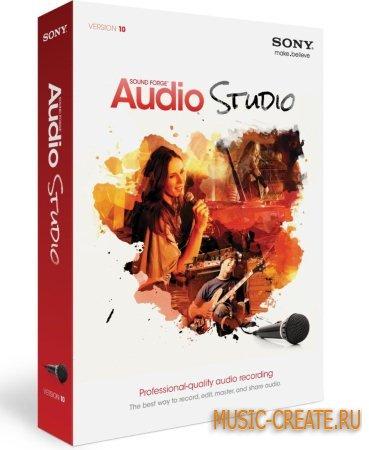 Sony - Sound Forge Audio Studio 10.0 Build 252 - аудио-редактор