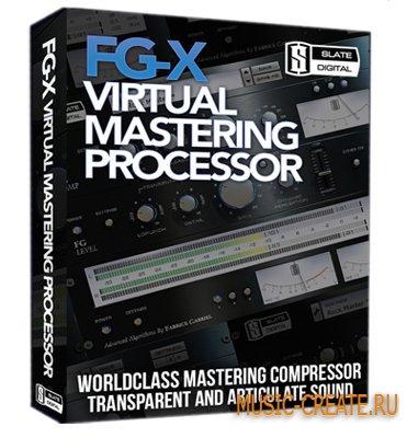 Slate Digital - FG-X v1.1.2 VST WIN x86 / v1.0.0 MAC OSX (Team XVX) - плагин для мастеринга