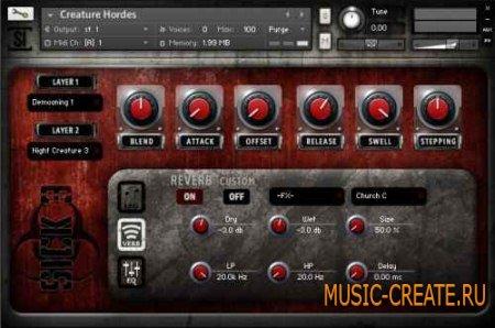SoundIron - Sick v4 (KONTAKT) - библиотека звуковых эффектов