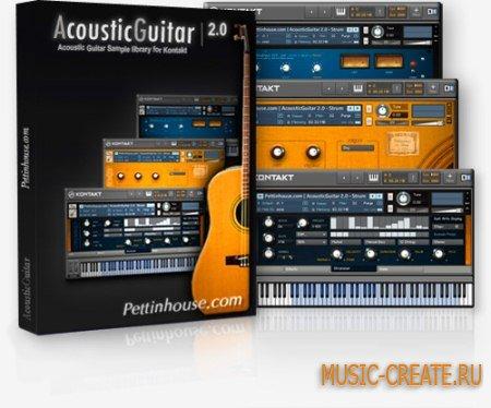 PettinHouse - AcousticGuitar 2.0 (KONTAKT) - библиотека звуков акустической гитары