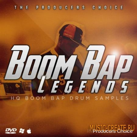 Producers Choice - Boom Bap Legends (WAV) - Hip Hop драм сэмплы