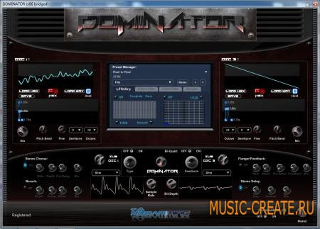 TA Programming - DOMINATOR v1.04 x86 (Team R2R) - таблично-волновой синтезатор