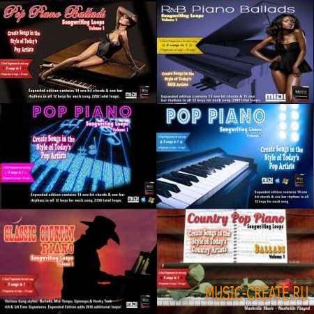 Piano-Loops MIDI Bundle (MIDI) для EZKeys