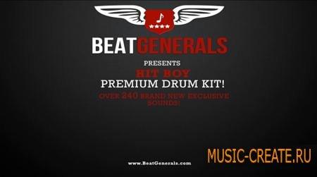 BeatGenerals - Hit-Boy Premium Drum Kit (WAV) - драм сэмплы