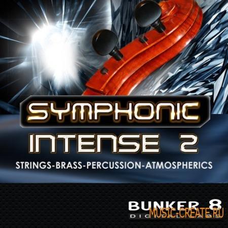 Bunker 8 - Symphonic Intense 2 (ACiD WAV AiFF MIDI) - звуки оркестровых инструментов