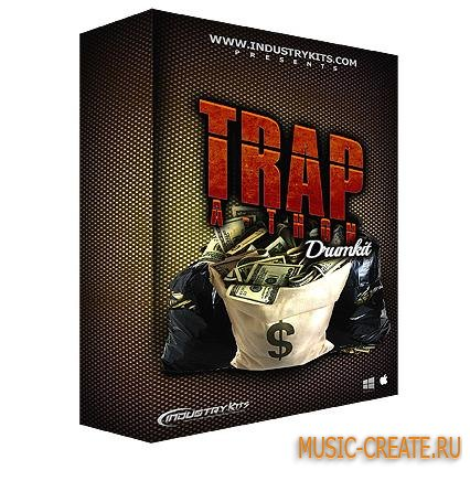 Industry Kits - Trap-A-Thon DrumKit (WAV) - сэмплы Trap