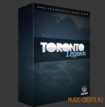 Johnny Juliano - Toronto Legends Drum Kit (WAV) - драм сэмплы